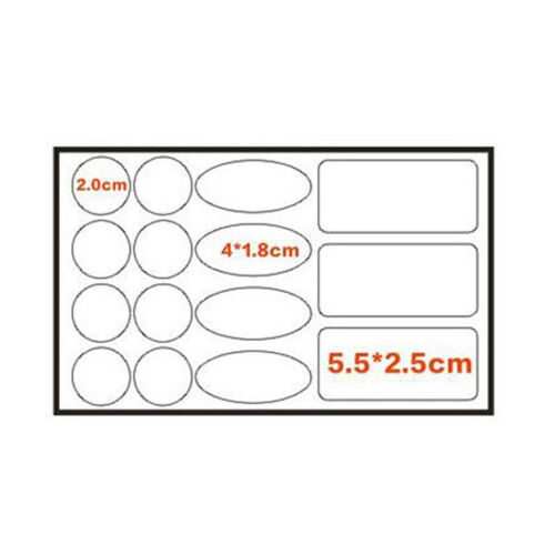 Waterproof Durable Bike Bicycle Frame Stickers Anti-Scratch Chainstay  Protector