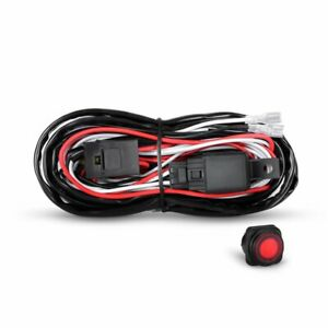 LED-Light-Bar-Wiring-Harness-Kit-40-Amp-Relay-On-Off-Switch-Off-Road-ATV