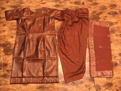 Cosciente Women's Donna Vestiti Indiani Di Marca Abbigliamento-mostra Il Titolo Originale