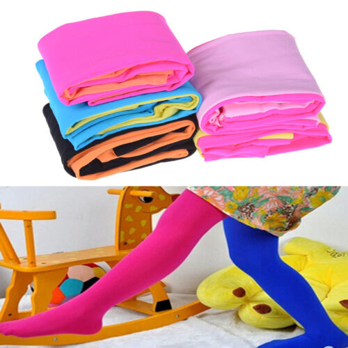 Fashion Candy Color Kids Girls Velvet Tights Stockings Pantyhose Pants Nice LS