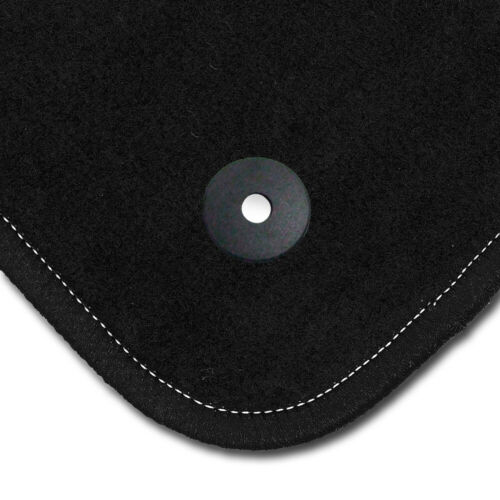 Auto-Fußmatten Supreme schwarz für Mazda 6 GJ ab 2012 Automatten Autoteppiche