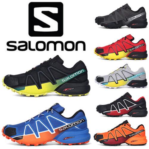 Details about Salomon Speedcross 4 Herren Outdoorschuhe Laufschuhe Cross Schuhe Hikingschuhe