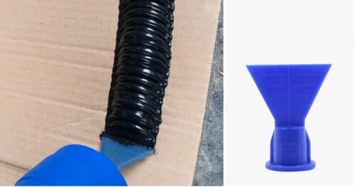 Details about  /Wave Shape Silicon Cone For Cartridge Caulk Gun Sealant Tool Spare Nozzle 10pcs