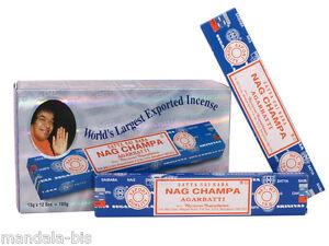 Actif Encens Nag Champa - Lot De 12 Boites De 15g = 180g ! Texture Nette