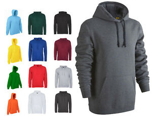 Mens-Plain-Hoodie-Sweatshirt-Size-XS-to-6XL-By-MIG-For-SPORTS-CASUAL-WORK-917