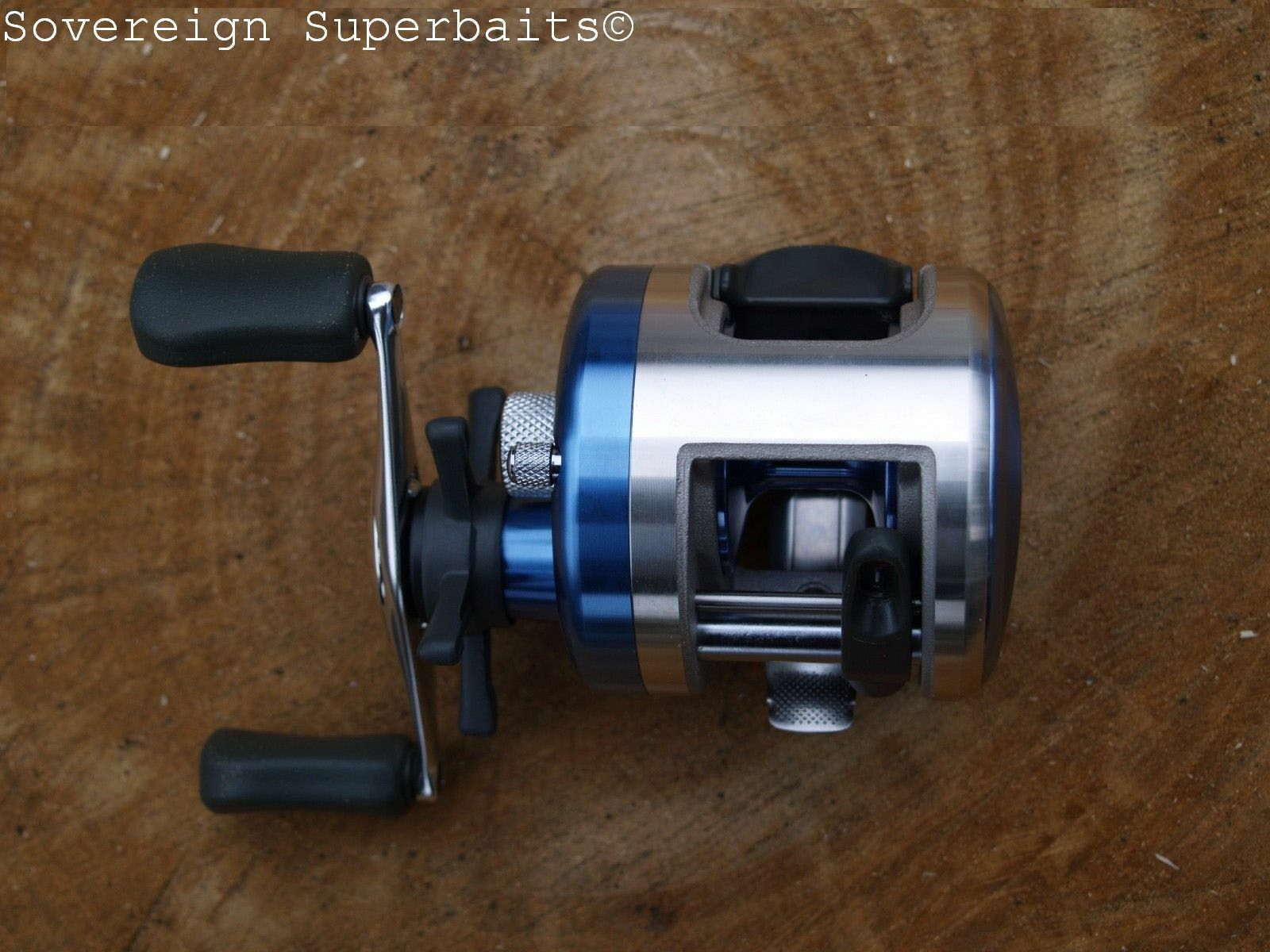 Okuma Halogen 150 Level wind Multiplier Reel