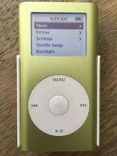 Apple iPod mini 1st Generation A1051 Green (4GB) (M9434LL/A)