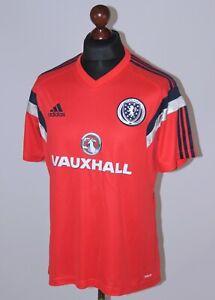 Scotland National Team training football shirt Adidas Adizero Size L