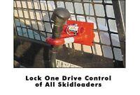 E-series Skidsteer Lock - Locks One Drive Control