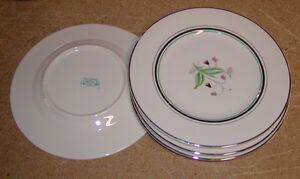 4 Syracuse China Old Ivory Coralbel Salad Plates Ebay