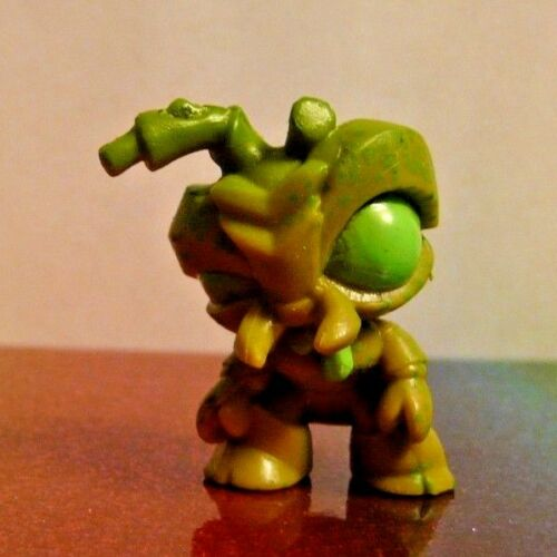 Flush Force Series 1 #10 TURD MITE Green Mini Figure Mint OOP