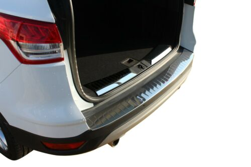 2013-2019 FORD ESCAPE KUGA Chrome Rear Bumper Sill Cover Stainless Steel