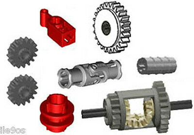 Lego DRIVETRAIN Kit joint,clutch,driving ring,technic,differential,catch,gear