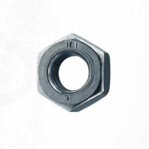Bumax88® 5 Stück Sechskantmuttern ISO 4032 M8 HOCHFESTE Edelstahlmuttern A4