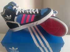 Adidas Originals Extaball W BLUE/Pink Trainers size UK5.5