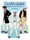 Clark Gable Paper Dolls in Full Color by Tom Tierney (1986, Paperback)