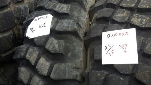 """Military Surplus 44/"""" Tire 12.00R20 Michelin XML"""