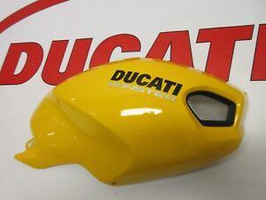 Ducati-right-hand-tank-fairing-panel-Yellow-Monster-696-796-1100