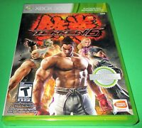 Tekken 6 Microsoft Xbox 360 Factory Sealed Free Shipping