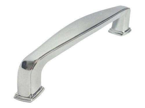 89MM,96MM Polished Chrome Kitchen Bathroom Cabinet Square Knobs pulls 31MM,76MM