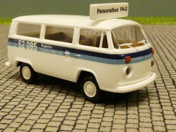 1//87 Brekina VW T2 Bus Flughafen Frankfurt 33133