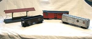 Kusan and unmarked cars, plus a Station.  Cheap & Free Shipping