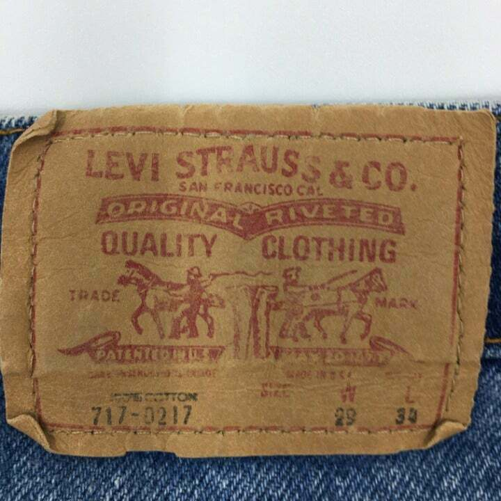 vintage levis 717-0217 made in USA - image 4