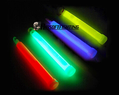 Airsoft Tactical Military Glow DIY Stick for Maxgear Vest Bag Backpack Red