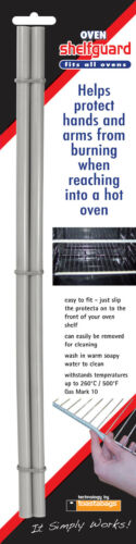 No more burns! silicone guard for oven racks /& shelves Oven Shelfguard 2pk