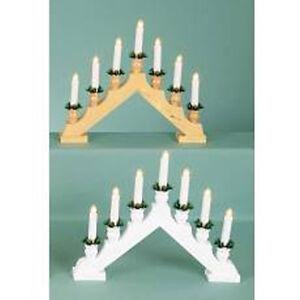 Premier-LI093909-Candle-Bridge-Cups-7-Light-Wooden-Arch-2-Designs-886481