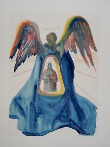 Estampe-originale-DALI-Dante-purifie-Divine-comedie-DANTE-Certificat