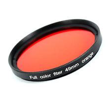 Filter Orange für SW - Fotografie 49 mm