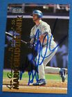 Mark Grudzielanek Signed 1999 Fleer Tradition Expos Baseball Card Auto'd Dodgers
