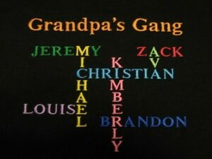 personalized daddy dad father grandpa grandkids names crossword mens