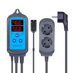 IHC-200 Digital Feuchte Temperaturregler 220V Luftbefeuchter Hygrometer Feuchtig