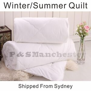 Winter-Summer-Soft-Microfibre-Microlush-Quilt-Doona-Single-Double-Queen-King
