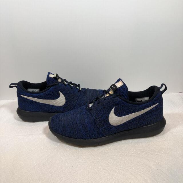 Size 10.5 - Nike Roshe NM Flyknit Blue