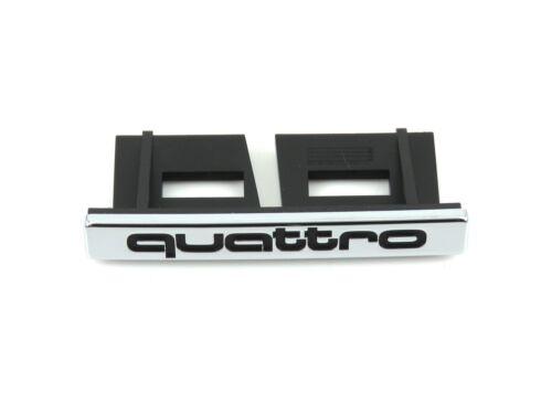 Original Audi Quattro Gitter Abzeichen Vorderes Emblem für A4 B7 2004-2008
