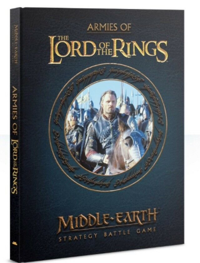 Armies Of Lord Of The Rings Strategy Battle Game HC Rules Manual Middle Earth