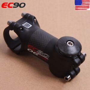 EC90-MTB-Road-Bike-Stem-6-17-Carbon-Fiber-Aluminum-Headset-Stems-60-120mm-Matt