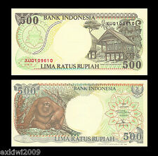 Indonesia 500 Rupiah 1992 (1996) Replacement Mint UNC Uncirculated Banknotes
