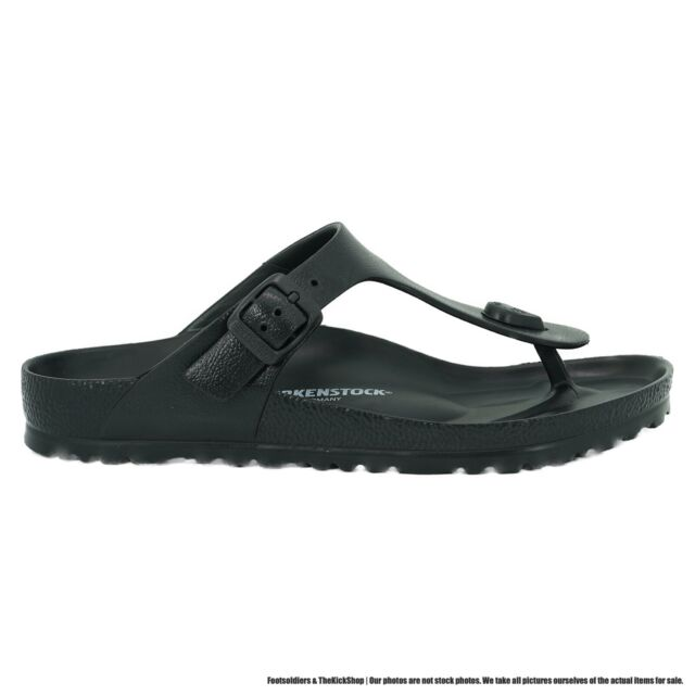 Birkenstock Gizeh EVA Women's Thong Sandals (Black - EVA)