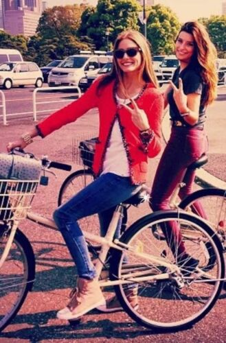 Zara M Blazer Jacket Medium Zebra Lining Fantasy Boucle Red Ny Sjælden PxadP
