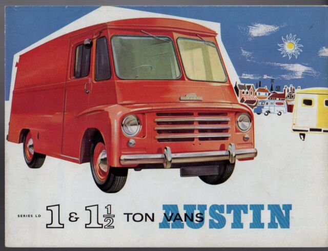 Austin Ld Series 1 1 5 Ton Vans Early 1960s Uk Market Sales Brochure For Sale Online Ebay