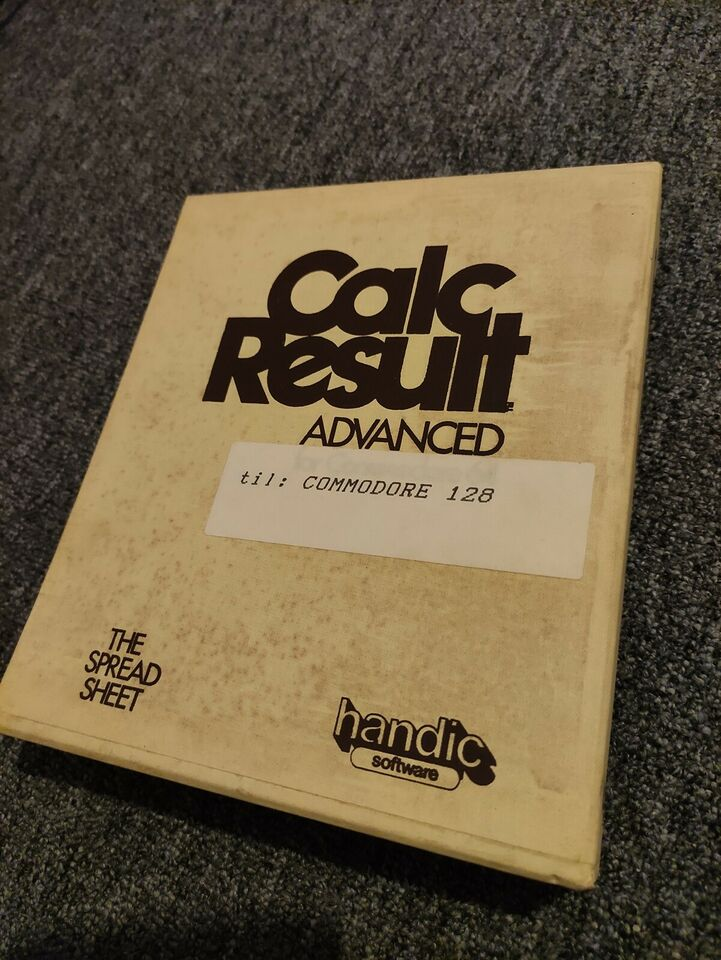 CALC Result fra HANDIC, Commodore 128