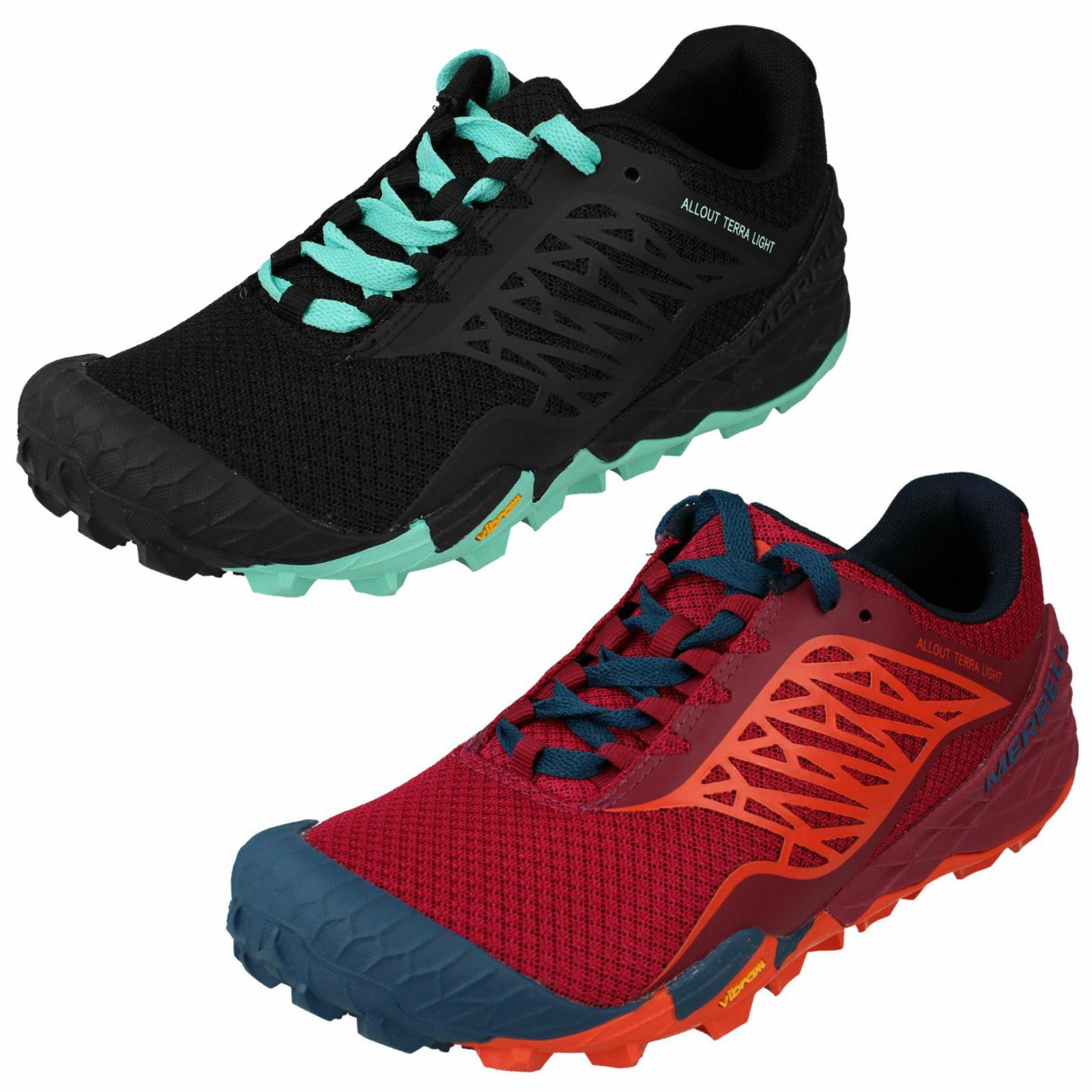 Merrell para Dama All Out Terra Light Malla Caminar Trail Running Zapatillas