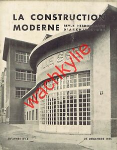 La-construction-moderne-1934-Architecture-Lycee-Camille-See-Brasserie-Maxeville