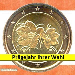 Kursmünzen Finnland 2 Euro Münze 20xx Moltebeere Zwei Kursmünze