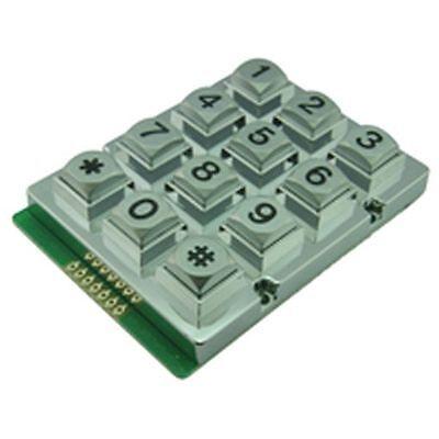 Waterproof High Quality Matrixed Metal Keypad