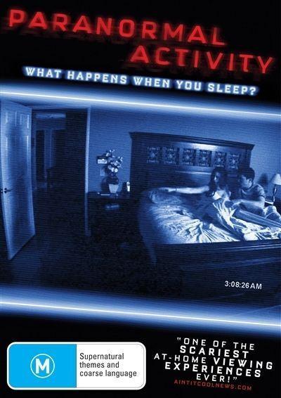 Paranormal Activity (DVD, 2010)*R4*Terrific Condition*